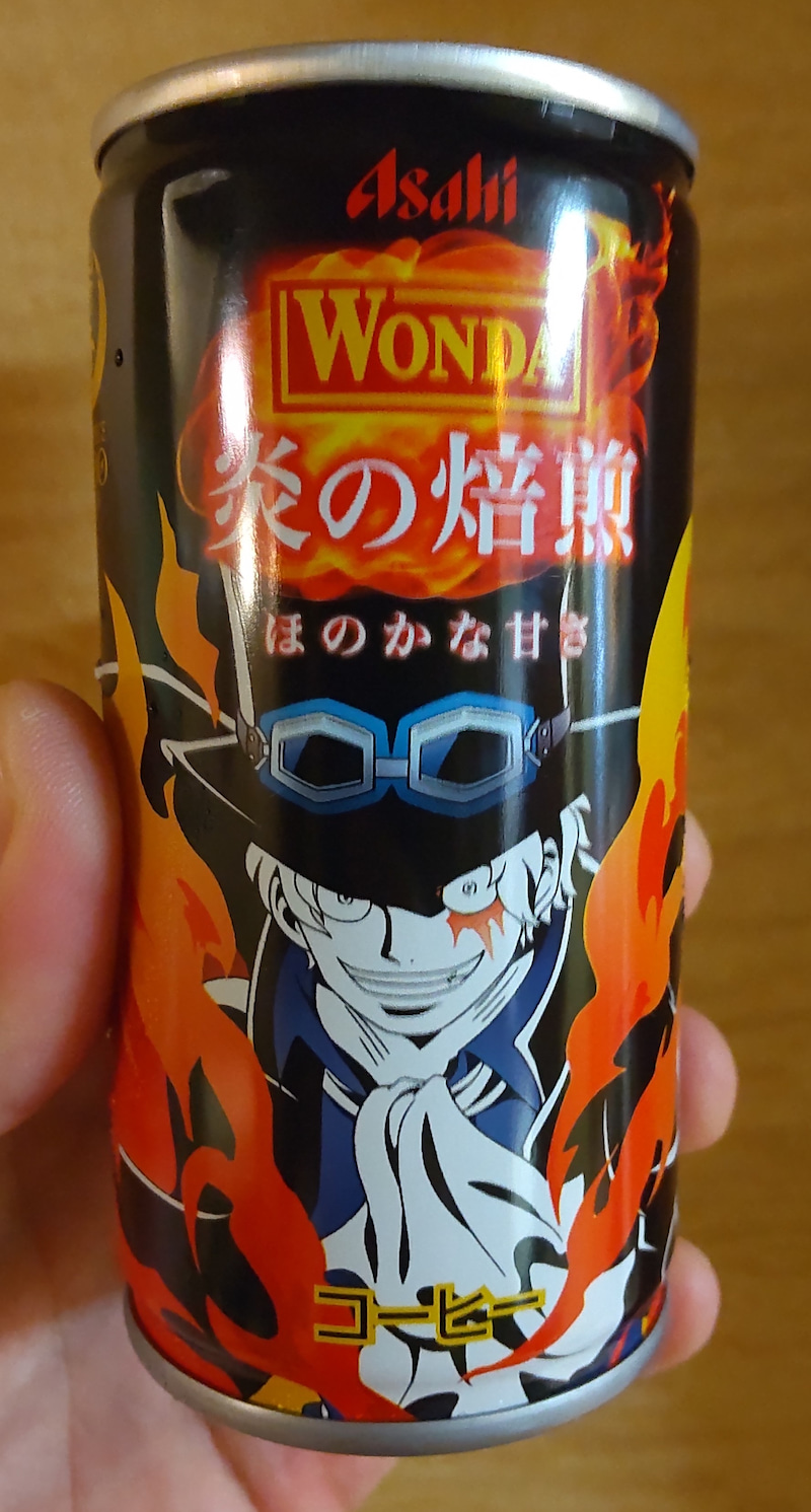 ワンピース缶コーヒー。
